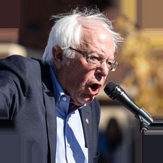 Stop Deficits Bernie To Nationalize Olive Garden Interview March 2020