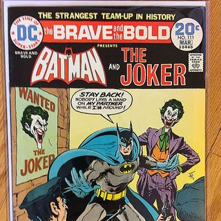 Episode 021 -  Brave and Bold No. 111, Mar. 1974, DC Comics