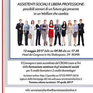 Assistenti sociali e libera professione: spazi e competenze per l'assistente sociale