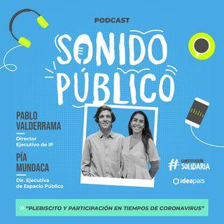 """Pía Mundaca y Pablo Valderrama en """"Plebiscito y Participación en tiempos de Coronavirus"""""""