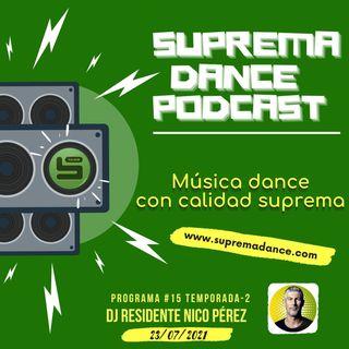 DJ Residente Nico Pérez Programa-15 ►T.2 ‖ SDP