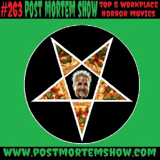 e263 - The Guy Fieri of the Occult (Top 5 Workplace Horror Movies)
