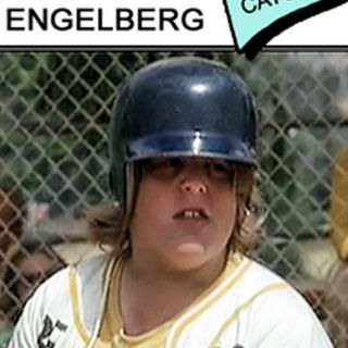 Engleberg, the catcher, from The Bad News Bears. His real name is Gary Cavagnaro. Interview with Torchy Smith