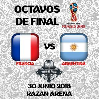 Francia vs Argentina en VIVO