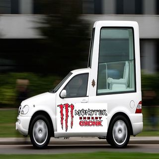 The Gronk Popemobile