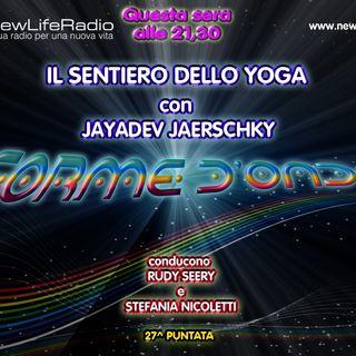 Forme d'Onda - Jayadev Jaerschky: Kriya Yoga -18-05-2017