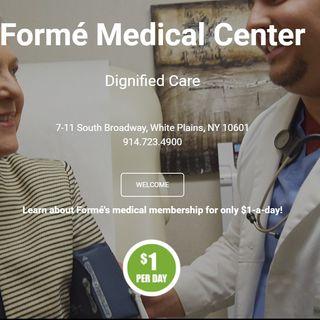 Maria Trusa y Gina Avila de FORME programa de salud prepagado del area tri-estatal de New York