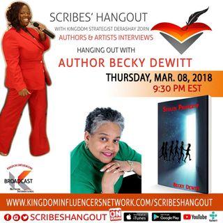 Scribes Hangout welcomes Becky Dewitt author of Stolen Property