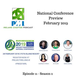 Ireland Chapter PMI Podcast | Episode 11 | National Conference Preview