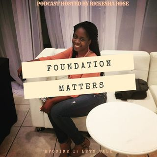 Foundation matters; Mindset check
