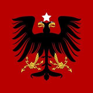 Albanian All-Stars w/ NFL DE, Kristjan Sokoli, Comedian, Leonarda Jonie, & Director, Redon Demushi