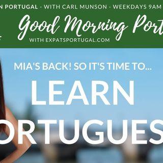 Learn European Portuguese on Good Morning Portugal! with Mia Esmirez