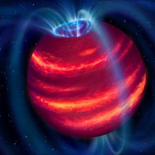 Una nana bruna nel mirino dei radiotelescopi
