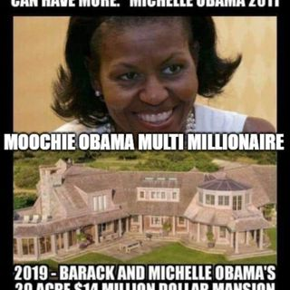 VIDEO MULTI MILLIONAIRE MOOCHIE OBAMA URGES UNDECIDED VOTERS THINK ABOUT ALL THOSE FOLKS LIKE ME AND MY ANCESTORS