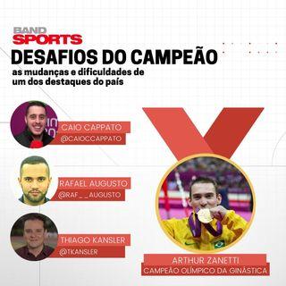Podiocast Olímpico #11 - Desafios do Campeão com Arthur Zanetti, as mudanças e dificuldades de um dos destaques do país
