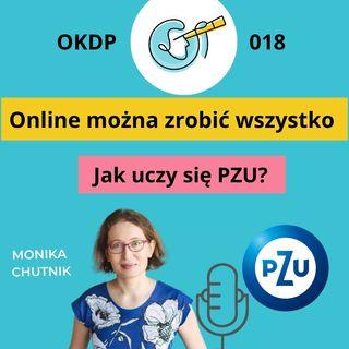 OKDP 018 Online można zrobić wszystko. Jak uczy się PZU?