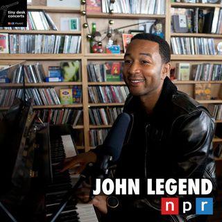 John Legend - Acoustic Live at NPR Music Tiny Desk Concert | Full Performance | Full Concert