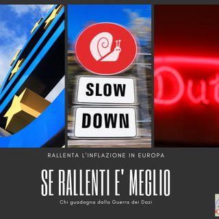 #175 La Borsa...in poche parole - 4/6/2019 - Se rallenti è meglio!