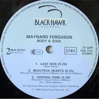 experiment in jazz with Maynard Ferguson ‎– Body & Soul