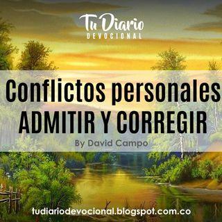 Conflictos Personales ADMITIR Y CORREGIR