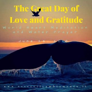 IT EN - Universal Laws and power of creation in the Great Day of Love and Gratitude! ✨