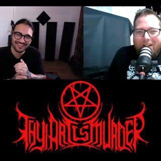Andy Marsh from THY ART IS MURDER talks Full Tilt Festival, Human Target and new generation of metal