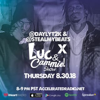 Accelerated Radio - Daylyt & Steal My Beats 8.30.18