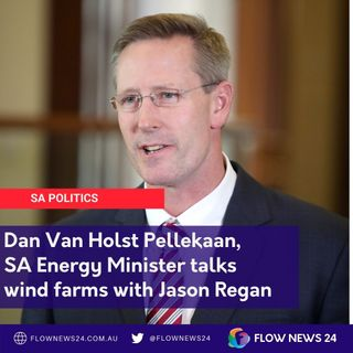 Dan Van Holst Pellekaan on wind farms, grid scale batteries and end-of-life issues