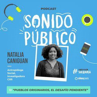 """Natalia Caniguan en """"Pueblos Originarios, el desafío pendiente"""""""