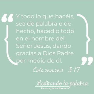 Como para Jesús