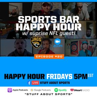 Sports Bar Happy Hour w/ surprise NFL guest (Jaguars OL Will Richardson)