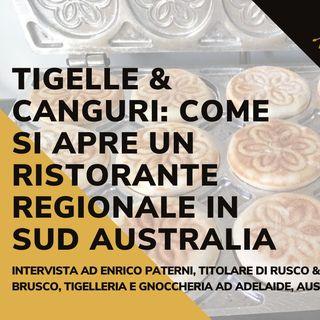 Aprire un ristorante regionale italiano (Tigelleria) in Australia - La storia di Enrico