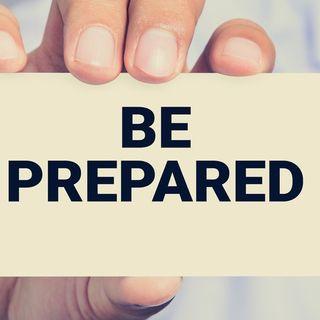 Be Prepared #SavvyBizTip