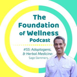 #55: Adaptogens & Herbal Medicine w/ Sage Dammers, Addictive Wellness