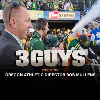 WVU graduate and Oregon Athletic Director Rob Mullens