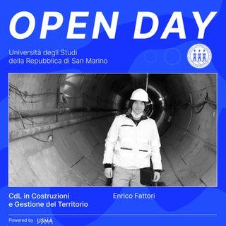 Open Day 2021 - Costruzioni e Gestione del Territorio - Enrico