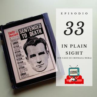 Puntata 33 - In Plain Sight (un caso di cronaca nera)