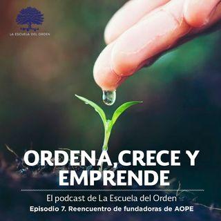 Ep. 7 Reencuentro de fundadoras de la Asociación de Organizadores Profesionales de España