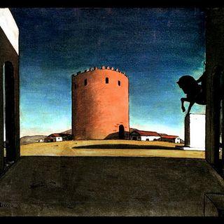 Giorgio De Chirico, La torre rossa