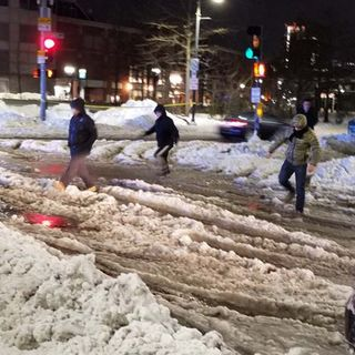 Boston Digs Out After Massive Storm, Downtown Flooding