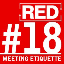 RED 018: How To Get A Meeting
