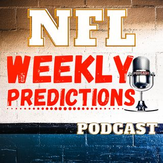 Week 10 predictions, NFL 2019
