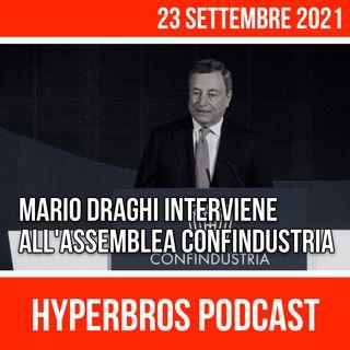 Mario Draghi interviene all'Assemblea di Confindustria