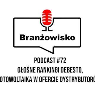 Branżowisko #72 - Rankingi firmy debesto, Fotowoltaika w ofercie dystrybutorów?