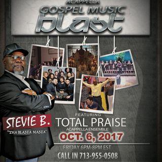 Stevie B's Acappella Gospel Music Blast - (Episode 46)