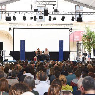 Mariana Mazzucato con Bruno Giussani