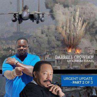 Updates LIVE FROM ISRAEL, NUBIAN KING (DARRELL CROWDER) via The Judge Joe Brown Show