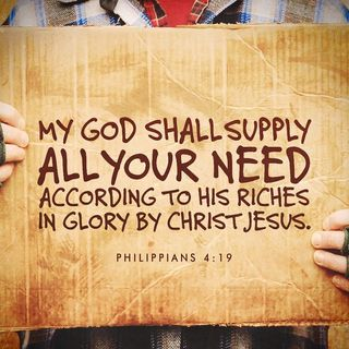 Bible Study Exercise: All Your Needs
