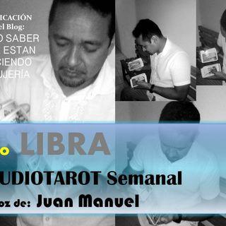 TAROT gratis LIBRA Audiotarot semanal tercera semana de ABRIL