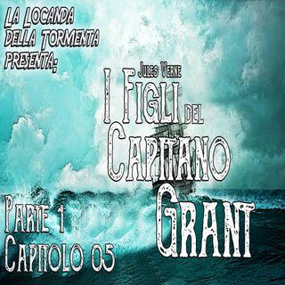 Audiolibro I figli del Capitano Grant - Jules Verne - Parte 01 Capitolo 05